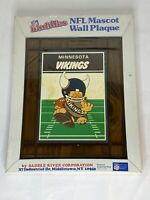 NFL Minnesota Vikings Huddles Mascot Wall Plaque Football