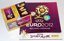 Panini EM EURO 2012 – 1 x BOX DISPLAY + LEERALBUM ALBUM ED. SOUTH AMERICA