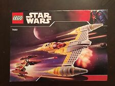 LEGO Star Wars Naboo N-1 Starfighter & Vulture Droid [INSTRUCTION MANUAL ONLY]