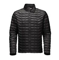 The North Face Thermoball Men Full Zip Jacket Black/Black Medium
