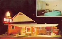 Postcard Capitol Motel in South Bend, Indiana~125227