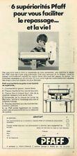 L- Publicité Advertising 1968 La machine à coudre Pfaff