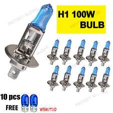 10X H1 100W Xenon HID Super White Effect Look Headlight Light Halogen Car Bulbs