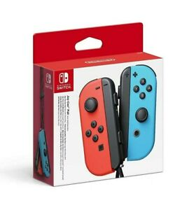 NEW SEALED Nintendo Switch Joy-Con Controller Pair - Neon Red/Neon Blue
