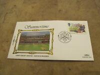 Benham Silk First Day Cover-1994 Summertime - Lords Cricket Ground