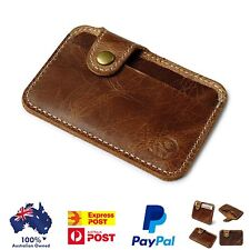 Leather Wallet , Slim Credit/Opal Card Holder & Free Shipping From Australia