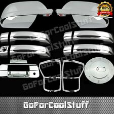 For 07-09 Toyota Tundra Mirror+4Drs Handle+Tailgate+Gas Cap+Taillights Cover