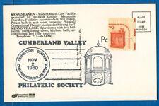 Stamp #1582, Expo Sta Cancel CV Philatelic Soc On Postcard Chambersburg PA, 1980