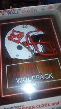New wall clock North Carolina State Wolfpack