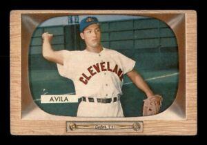 1955 Bowman Set Break #19 Bobby Avila GD *OBGcards*