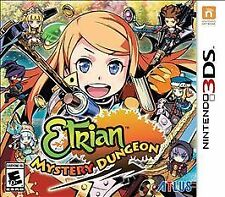 ETRIAN MYSTERY DUNGEON BOOK + CD BUNDLE   ---   Nintendo 3DS