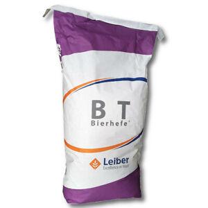 Levure de bière Leiber BT 25 kg Nourriture pour chevaux nourriture pour bétail