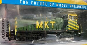 MKT SW1500 NEW MINT HO ATHEARN RTR DCC READY SWITCHER #51 OOP KANSAS KATY GREEN
