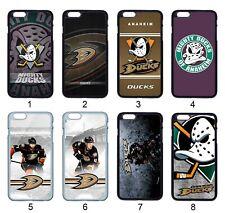 Anaheim Mighty Ducks NHL Case For Samsung iPhone iPod Moto LG SONY HTC HUAWEI