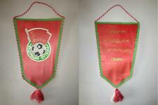 Fanion CCCP vintage URSS Pennant 1989 collector match