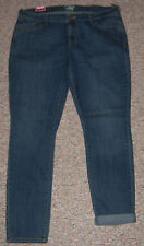 New OLD NAVY Blue Denim Mid-Rise Skinny Slim Leg Jeans Inseam 32 Size 16 NWT