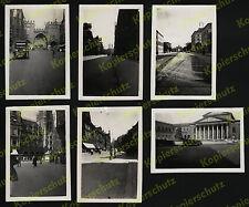 orig. Fotos Altstadt München Straßenszene Opel Lkw Straßenbahn Auto Fahrrad 1928