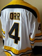 """New Bobby Orr """"A"""" patch CCM Boston Bruins Hockey jersey w Tags + FREE shipping!"""