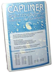 Capliner Schonbezug für Wasserbetten Teflon Ballonseide Schutzbezug Wasserbett