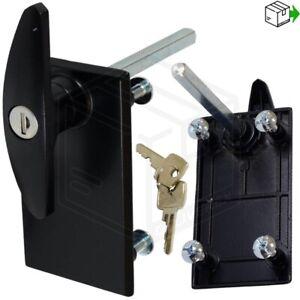 NEW GARADOR Garage Door Black T-Handle LOCK 1984 - 1999 parts spares Repair Kit