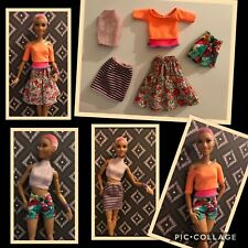 BARBIE DOLL,  fashion , 5 pc fashion set ,FASHIONISTA, MUSE,  (NO DOLL)