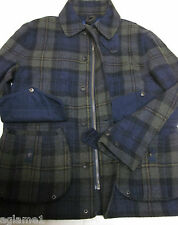 $595 POLO RALPH LAUREN plaid tartan wool  hunting cargo JACKET Coat L