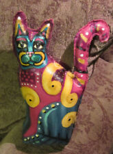 Art Doll, Ooak Artist Cat, Kitty hand painted, Collectible Handmade