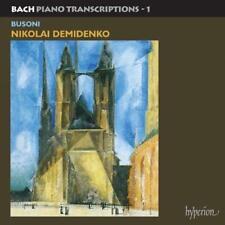 Bach: Piano Transcriptions, Vol. 1 Ferruccio Busoni, Demidenko, Good CD