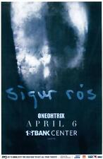 SIGUR ROS BROOMFIELD 2013 CONCERT POSTER FIRST BANK
