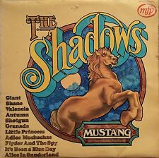 "Shadows  Mustang   12 Wild West Tracks   12"" LP 33rpm   MFP5266."