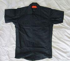 Mens shirt Work uniform small medium large XL 2x 5x blue black white tan NEW