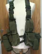 Viper Tactical Green SA Assault Paintball Fishing Vest c/w 3Ltr Water Bladder