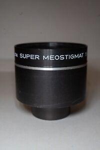 Meopta SUPER Meostigmat 1.6/77 excellent condition, projection lens SUPER RARE