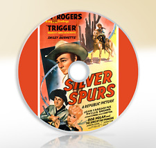 Silver Spurs (1943) DVD Classic Western Film / Movie Roy Rogers Smiley Burnette