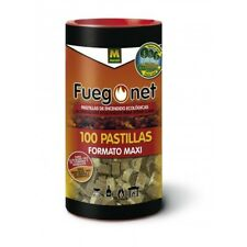 Fuego net pastillas ecologicas 100 unidades