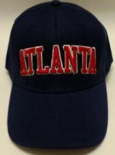 READ LISTING! Atlanta Braves Team Color 3D Embroidered Hat Cap! Adjustable!!