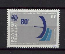 French Polynesia 1978 SG#272 Telecommunications Day MNH