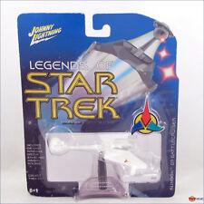 Johnny Lightning - Legends of Star Trek rare WHITE Klingon D7 Battlecruiser