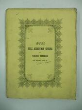 AA.VV., Atti dell'Accademia Gioenia di Scienze Naturali, serie II, 1856
