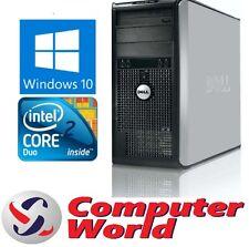 Dell Optiplex Tower Windows 10 Computer 2.93GHz | 2TB | 8GB | WiFi
