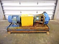 """RX-3634, METSO HM150 LHC-D 6"""" x 4"""" SLURRY PUMP W/ 25HP MOTOR AND FRAME"""