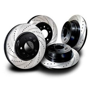 INF033SS Q50 Q60 Q70 Sport Performance Brake Rotors Cross Drill & Slots