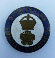 More details for vtg enamel badge - ' derbyshire police special constable '