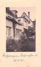SEHR SELTEN Privat-Foto AK 1935 @ Haus in Trossingen Höfenstr  ??? 12