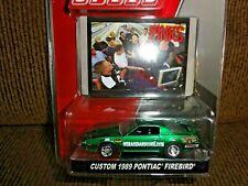 2018 Greenlight Green Machine Speed Pinks Custom 1989 Pontiac Firebird RARE 1/64