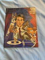 1981-82 Duke Blue Devils College Basketball Yearbook Coach K