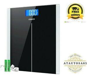 Etekcity Digital Body Weight Bathroom Scale with Step-On Technology, 400 Pound..