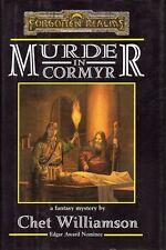 FORGOTTEN REALMS-MURDER IN CORMYR-(HC)-new-very rare