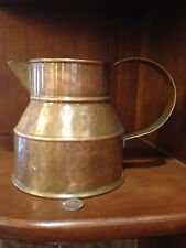 "Hammered Copper Pitcher~5"" high"
