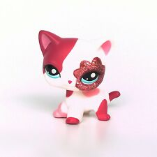 #2291 Littlest Pet Shop standing Short Hair cat LPS toys original EUROPEAN 2''